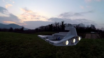 """<span class=""""entry-title-primary"""">Star Wars Drone Takes To The Skies To Conquer</span> <span class=""""entry-subtitle"""">After some careful modding, this fan was able to create an Imperial Star Destroyer from his remote controlled drone</span>"""