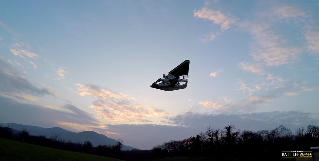 Star Wars Imperial Star Destroyer Drone