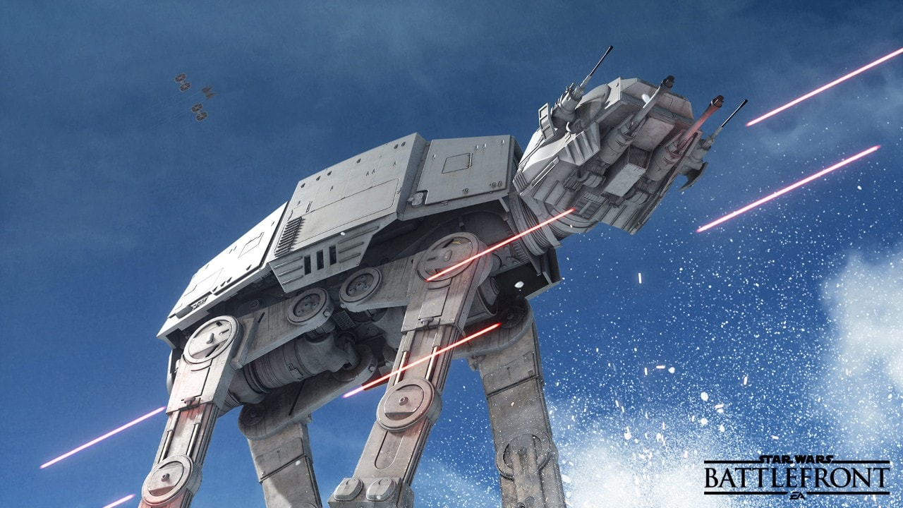 Battlefront AT-AT Size