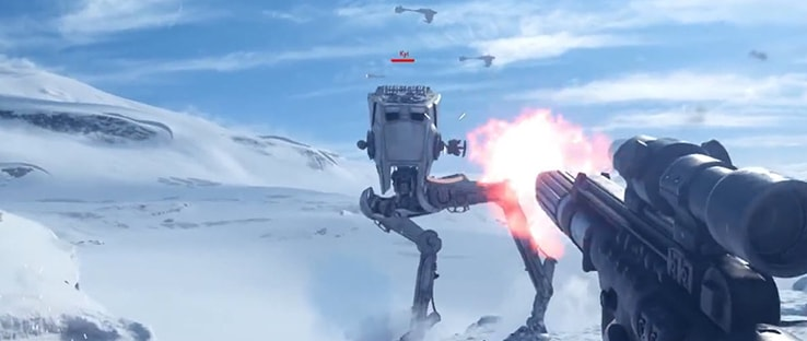 All Terrain Scout Transport on Hoth