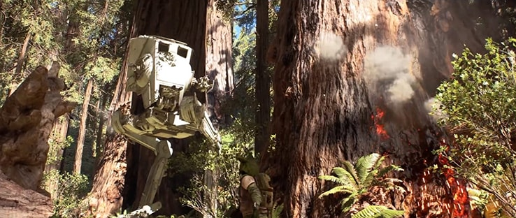 AT-ST Battlefront Vehicle