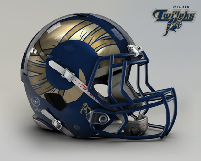 Star Wars Football Helmet - Rams