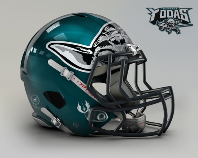 NFL Star Wars Football Helmet - Eagles