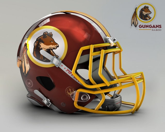 NFL Star Wars Football Helmet - Redskins
