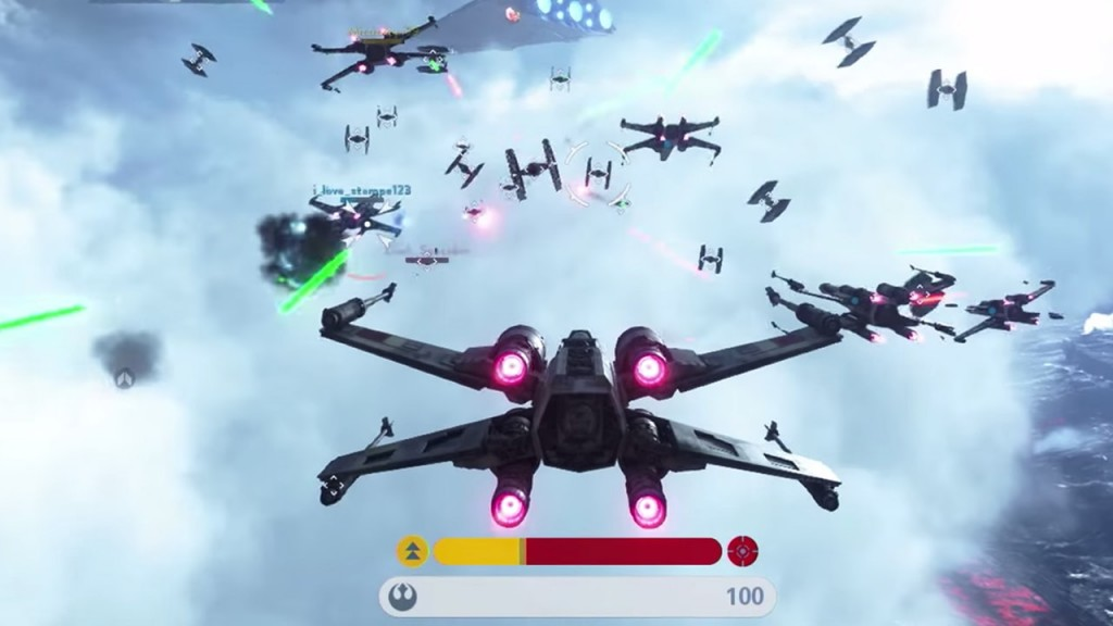 Fighter Squadron X-Wing Battle