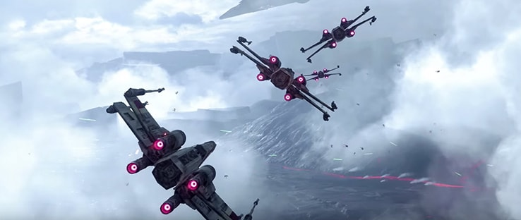 Fighter Squadron X-Wings