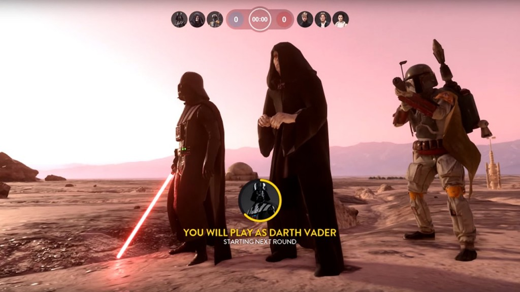 Heroes vs Villains Battlefront Gameplay