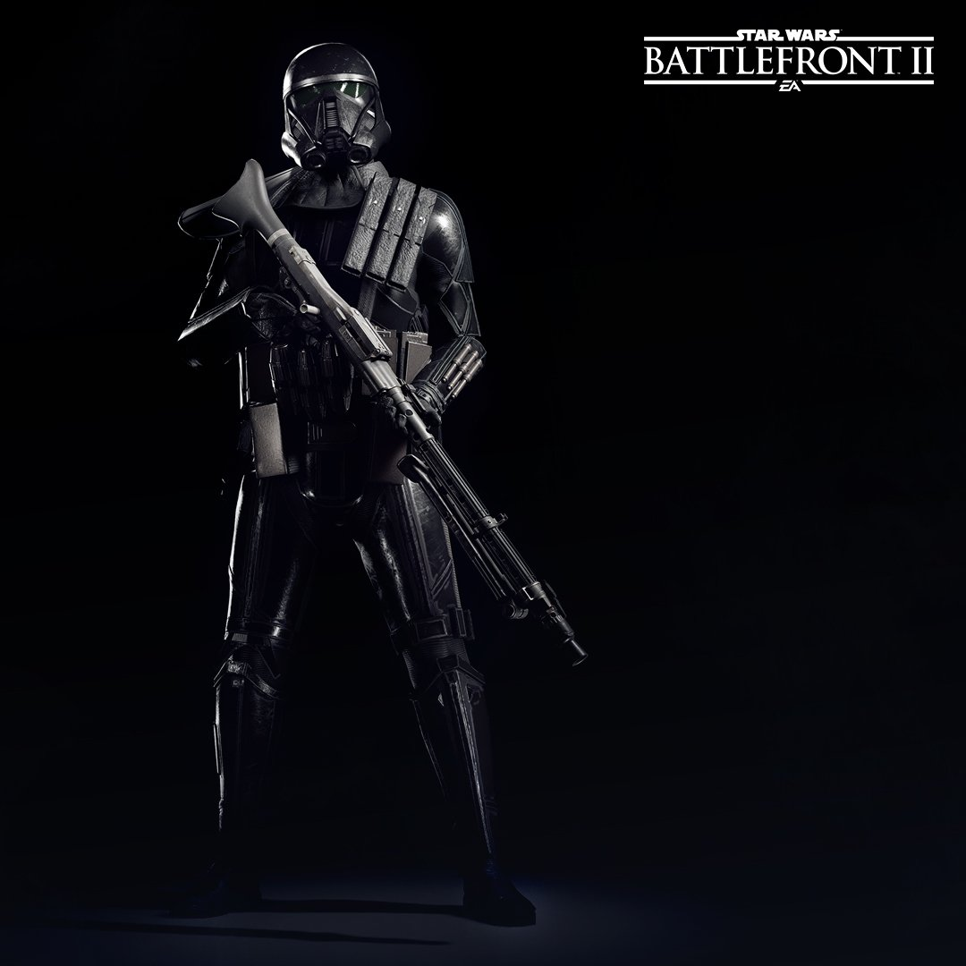 Death Trooper from Special Characters in Battlefront